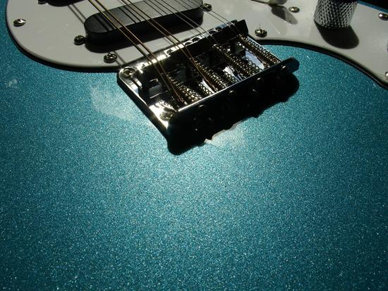 Limited Edition Eastwood Mandocaster - Metallic Blue