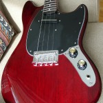 First Look: Eastwood Warren Ellis Signature Tenor Guitar with Cherry Finish