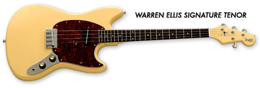Eastwood Warren Ellis Signature Tenor Guitar (Vintage Cream Finish)
