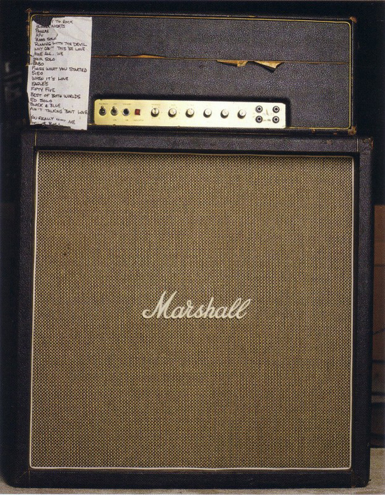 Eddie Van Halen's Marshall Super Lead #1959 100-watt Plexi