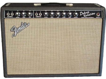 1960's Blackface Fender Deluxe Reverb Amp