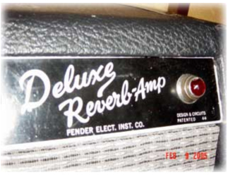 Fender was the amp of choice at the shop.
