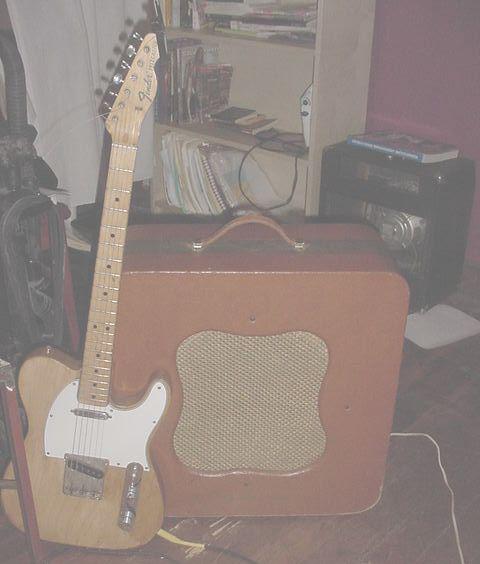 Fender Telecaster Guitar & Danelectro Challenger Amp