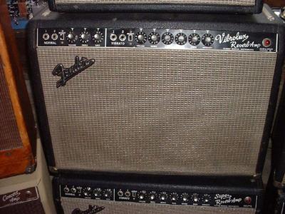 Fender Vibrolux Amp (Blackface)