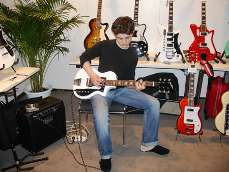 Musikmesse 2008: A future UK blues guitar legend?