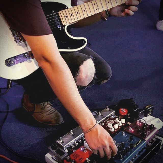 FX pedalboard