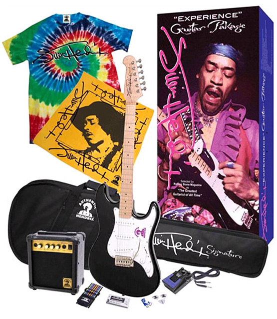Gibson Guitars Presents the Jimi Hendrix Package of Goodies