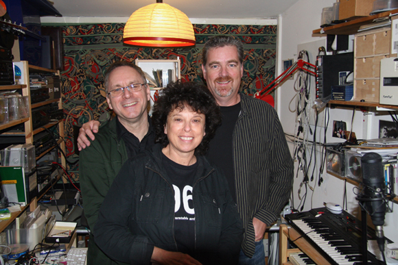 Colin Newman and his wife Malka Spigel, who are half of the band GITHEAD