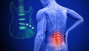 Playing guitar with back pain?