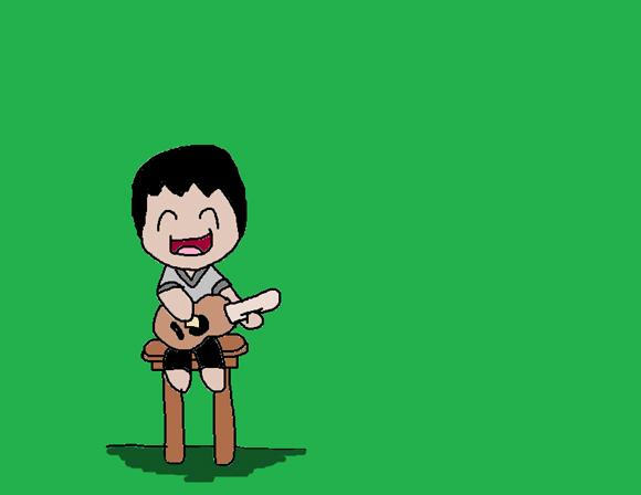 The Happy Guitarist