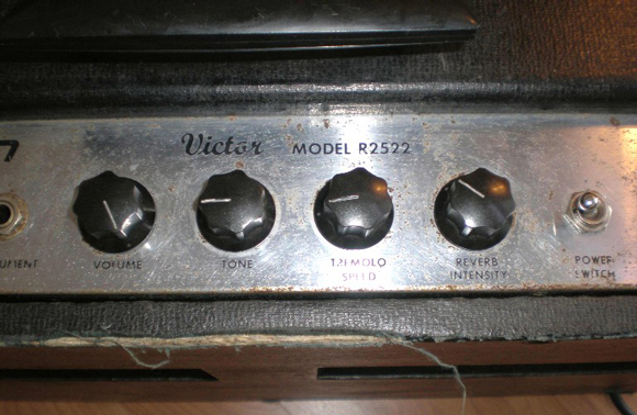 Hilgen Victor Model R2522 Amplifier on