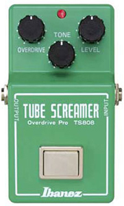 Ibanez TS808 Tube Screamer Overdrive Pro Guitar Effects Pedal