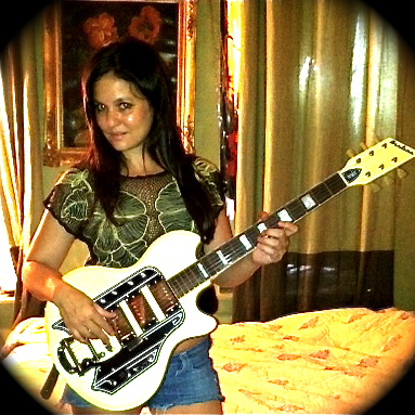 Irina Yalkowsky (Guitarist for Nicole Atkins)