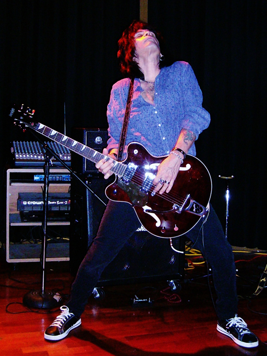 Jay Codina (Blue Tattoo) - Eastwood Classic 6 Lefty Guitar