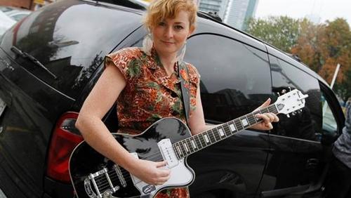 Jenn Grant - Airline Tuxedo Guitar