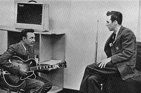 Jim Reeves & Chet Atkins with a Standel 25L15 Amp
