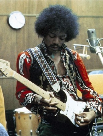 Jimi Hendrix in Studio