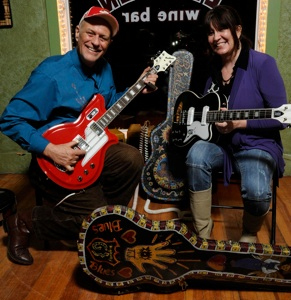 Joe Price & Vickie Price at the Eastwood Players Lounge
