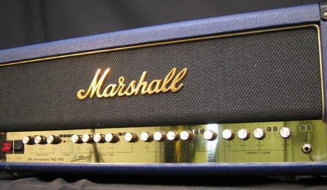 1992 Marshall 6100 30th Anniversary Amp