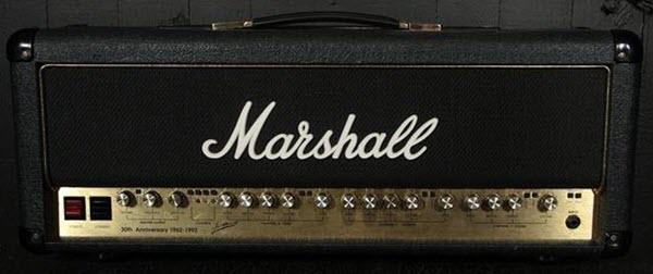 1992 Marshall 6100 30th Anniversary Amp