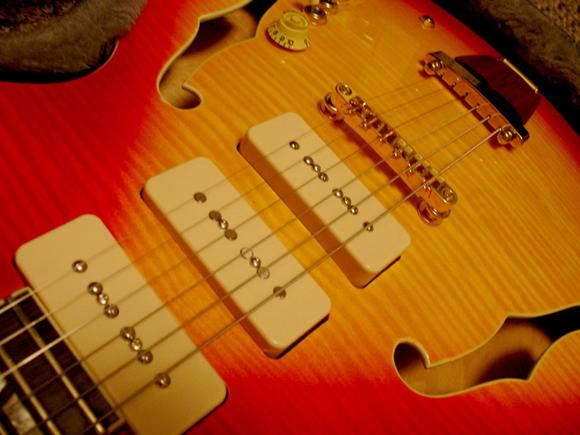 Joey Leone Signature Guitar Prototype from Eastwood Guitars