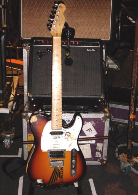 Jonny Greenwood's Fender Eighty Five Amp
