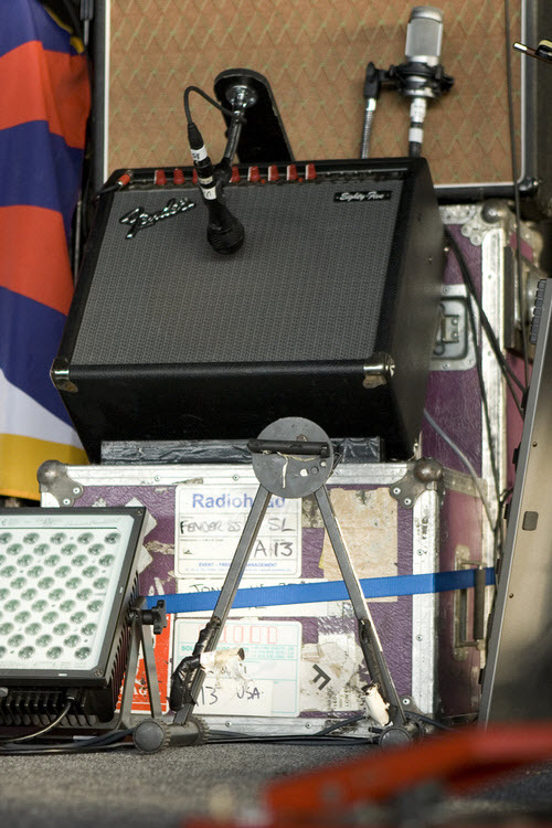 Jonny Greenwood's Fender Eighty Five Amp