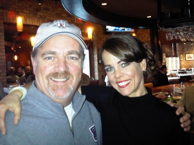 Mike Robinson with Keri (from the Ellen show)