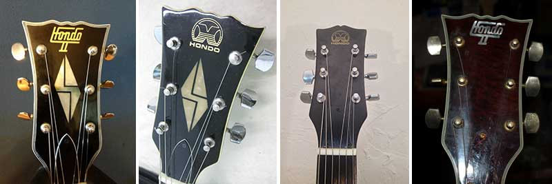 Hond guitar headstocks