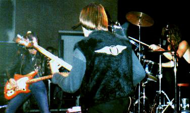 Link Wray on stage