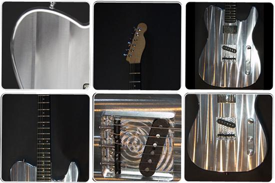 LMG-T Guitar from Liquid Metal Guitars