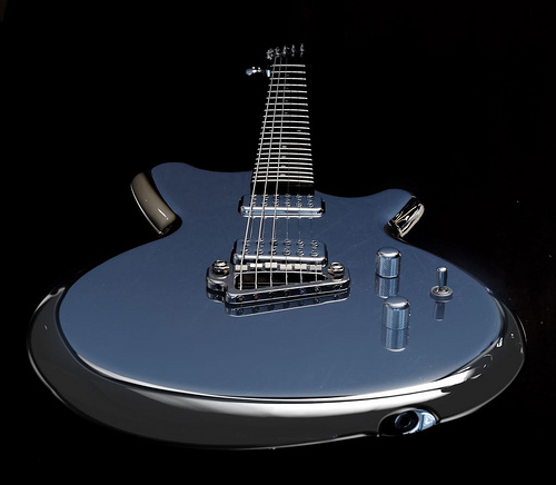 M1 TV Jones Premium Guitar (Liquid Metal Guitars)