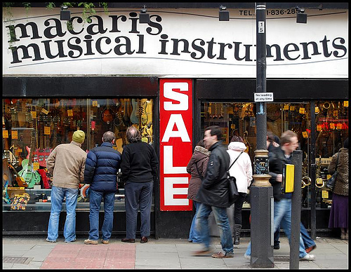 Macari's Music in London, England
