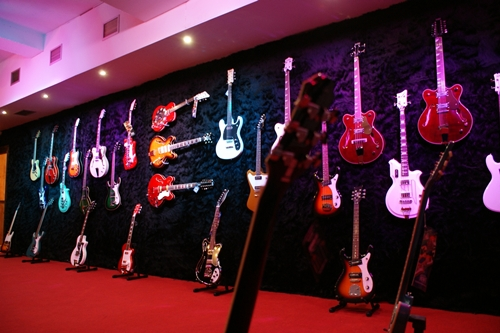 Eastwood Guitars Showroom in Madrid, Spain
