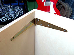 Homemade Amp Stand