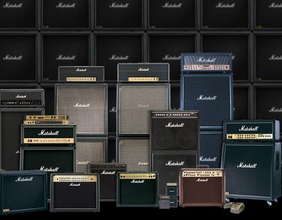 Stacks & Stacks of Marshall Amps