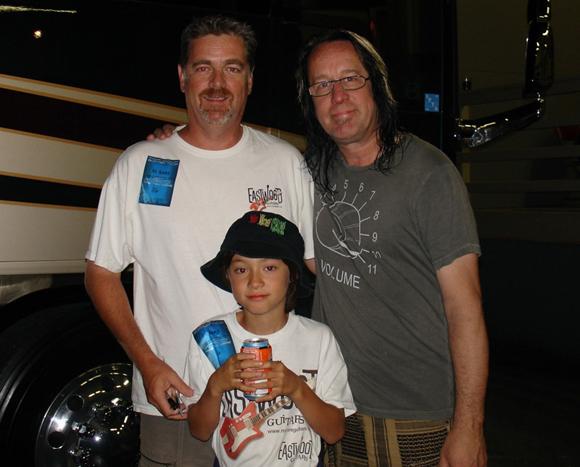 Mike Robinson, Troy Robinson & Todd Rundgren