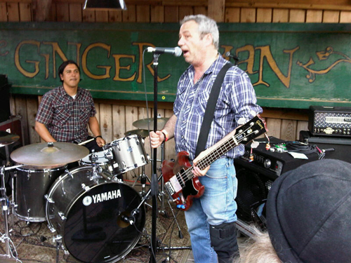 Mike Watt & The Missing Men at the Ginger Man in Austin, TX for SXSW 2011