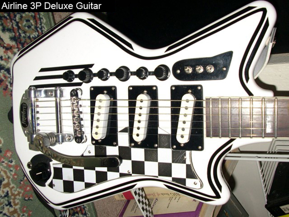 Two Tone: Modified Airline 3P DLX Electric Guitar
