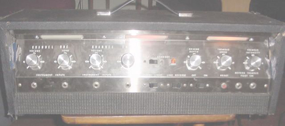 Montgomery Ward 6L6 Guitar Amp Head