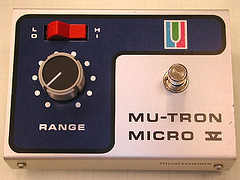 Musitronics Mutron V Envelope Follower Guitar Effects Pedal