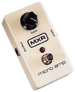 MXR Micro Amp Guitar Effects Pedal