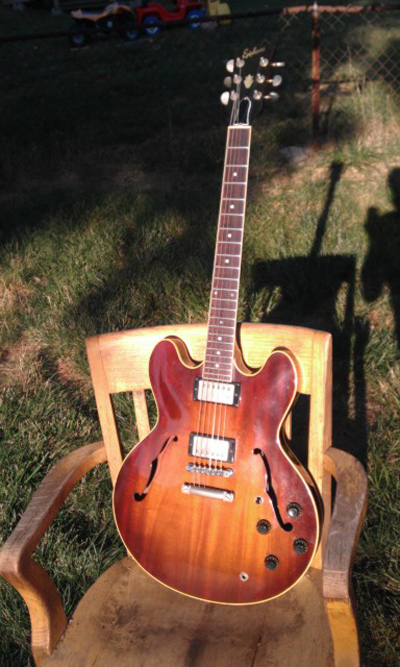 Mystery Ephiphone Guitar: Prototype or Custom Build?