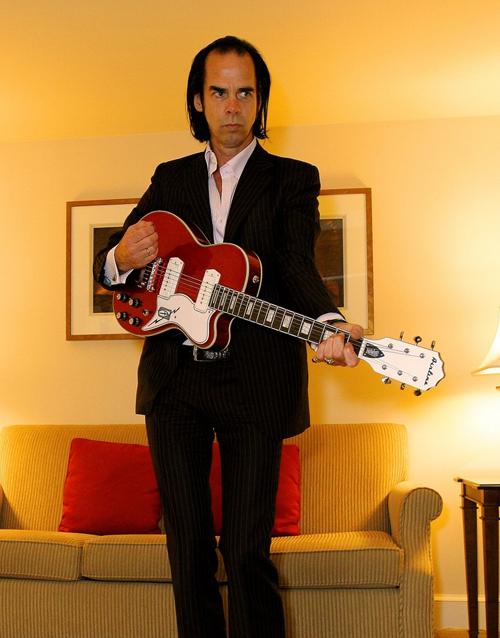Nick Cave (Airline Tuxedo guitar)