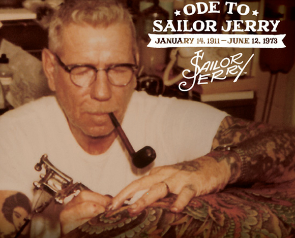 Sailor Jerry (January 14, 1911 - June 12, 1973)