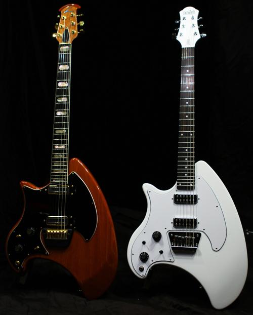 1980 Ovation Breadwinner & Eastwood Breadwinner guitars