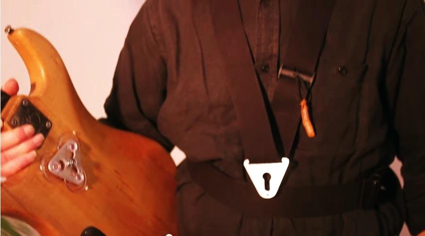Pain free guitar strap