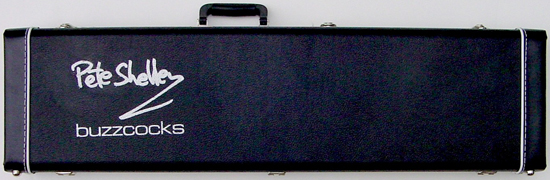Custom Pete Shelley Starway Guitar Case
