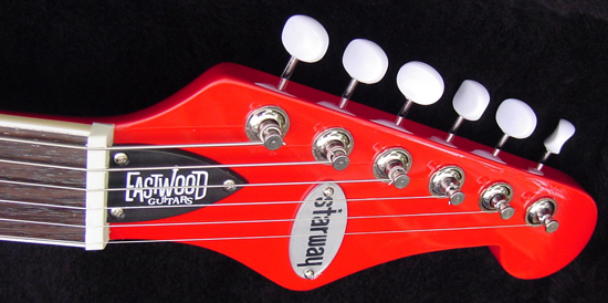 Pete Shelley Signature Starway Guitar from Eastwood Guitars
