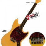 Premier Guitar Reviews the Eastwood Warren Ellis Signature Tenor Guitar